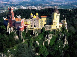 Sintra sightseeing tour in Sintra city and visiting Pena palace
