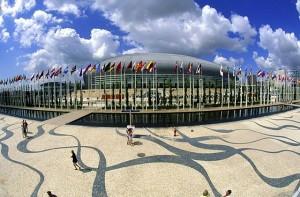 Parque das Nacoes, a modern wonder